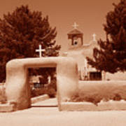 Ranchos De Taos Church   New Mexico Poster