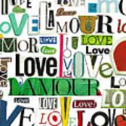Ransom Art - Love Poster