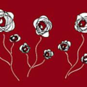 Ranunculus Poster by Frank Tschakert