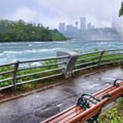 Rapids In The Rain Poster
