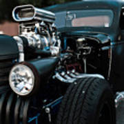 Rat Rod Coupe Poster