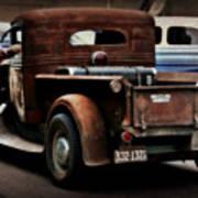 Rat Rod Work Truck Poster