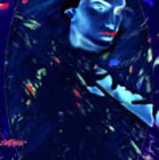 Raven Woman Poster