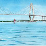 Ravenel Bridge Poster