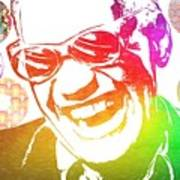 Ray Charles Retro Tribute Poster