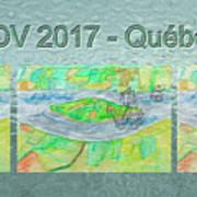 Rdv 2017 Quebec Mug Shot Poster