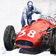 Ready For Racing Maserati 250 F Poster