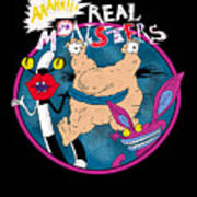 Real Monsters Poster