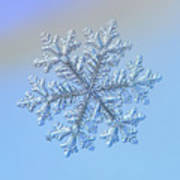 Real Snowflake - Hyperion Poster