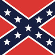 Rebel Flag Poster