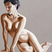 Reclining Figure Poster