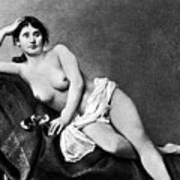 Reclining Nude, C1885 Poster