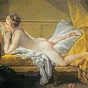 Reclining Nude Poster by Francois Boucher