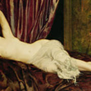 Reclining Nude Poster