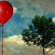 Red Balloon Poster