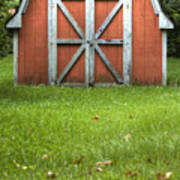 Red Barn Poster by Dustin K Ryan