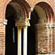 Red Brick Arches Regular Poster