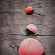 Red Buoys  Poster