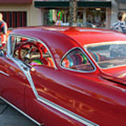 Red Chevrolet Poster