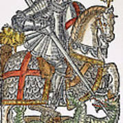Red Cross Knight, 1598 Poster