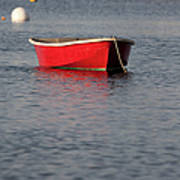 Red Dingy - Rye Harbor New Hampshire Usa Poster
