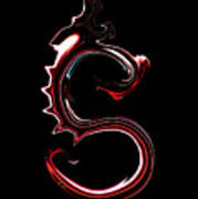Red Dragon Serpent Named S Poster