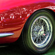 Red Ferrari Poster