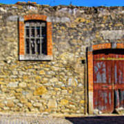 Red Gate, Stone Wall Poster