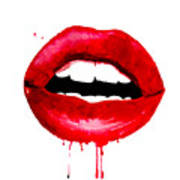 Red Lips 3  Poster