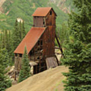 Red Mountain Mine. Poster