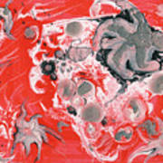 Red Nebula Poster