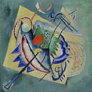 Red Oval By Vassily Kandinsky Poster