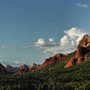 Red Rocks Of Sedona  Poster