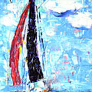 Red Sail Poster