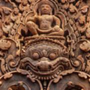 Red Sandstone Kala - Cambodia Poster