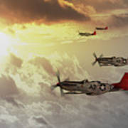 Red Tails Poster by J Biggadike