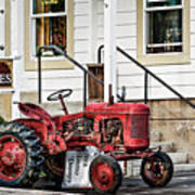 Red Tracktor Poster