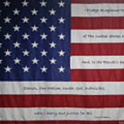 Red White And True Poster