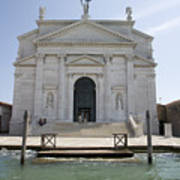 Redentore Church In Venice Poster