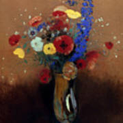 Redon: Wild Flowers, C1912 Poster