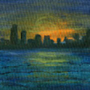 Reflecting Night Poster