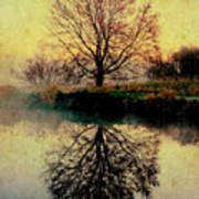 Reflection On Golden Pond Poster