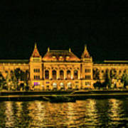 Reflections From Budapest University Poster