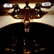 Reflections In Sink Art Poster by Steven Digman