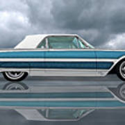 Reflections Of A 1961 Thunderbird Poster