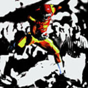 Reggie Bush Up And Over Poster