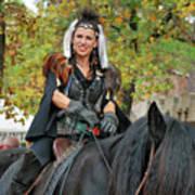 Renaissance Rider Poster
