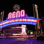 Reno - The Biggest Little City in the World Poster