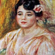 Renoir: Adele Besson, 1918 Poster