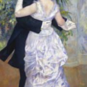 Renoir: Town Dance, 1883 Poster